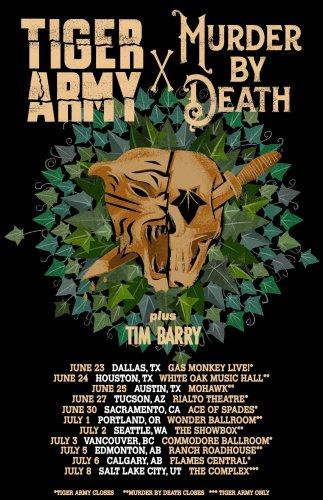 Tiger Army / Murder By Death / Tim Barry • forum chorus fm